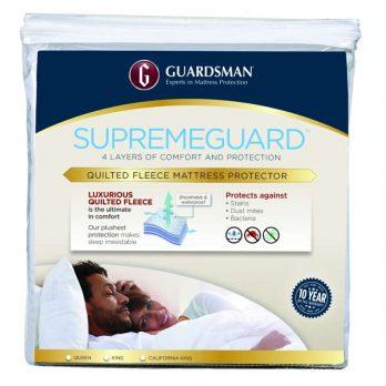 GUARDSMAN® SUPREMEGUARD™ MATTRESS PROTECTOR – FITS UP TO 20″ DEPTH