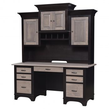 Finley Wall Desk and Hutch