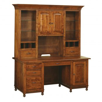 Henry Stephens Wall Desk and Hutch