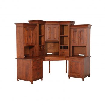 Henry Stephens Corner Desk and Hutch