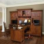 Henry Stephens Partner Desk and Hutch