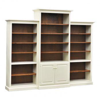 3-PC. Brooklyn Bookcase Wall Unit