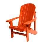 Adirondack Chair – Burnt Orange