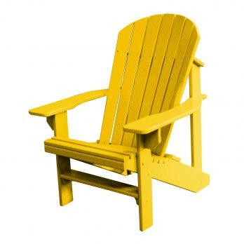 Adirondack Chair – Yellow