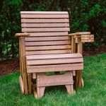 2′ Plain Glider Chair