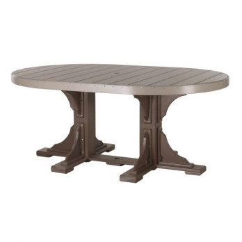 4′ x 6′ Oval Table