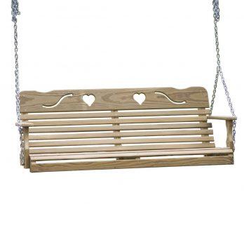 5′ Cutout Heart Swing
