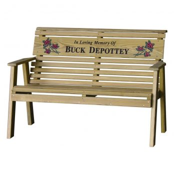 4′ Rollback Personalized Bench