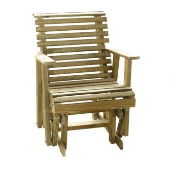 2′ Rollback Plain Glider Chair