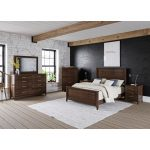Boulder Creek Tall Dresser & Mirror
