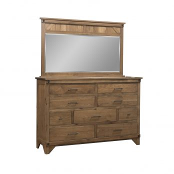 Cambridge Tall Dresser & Mirror