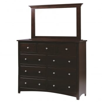 Ellington Tall Dresser & Mirror