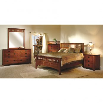 Mission Antique Bedroom Collection