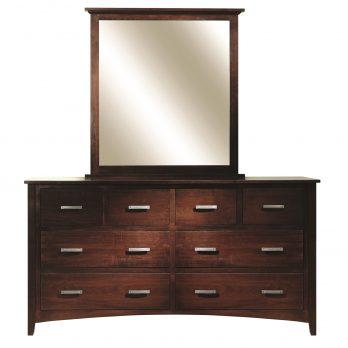 Riverview Mission Dresser & Mirror
