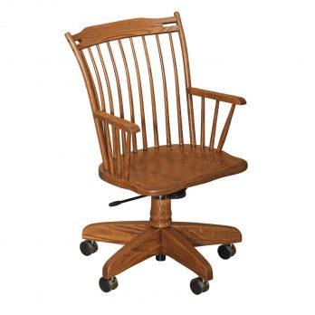 Thumback Arm Desk Chair
