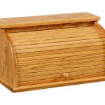 Large Roll Top Bread Box