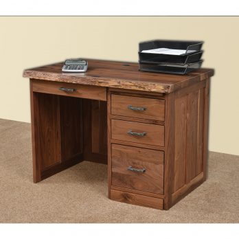 42″ Mission Desk with Live Edges