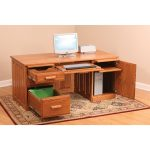 68″ Computer Desk