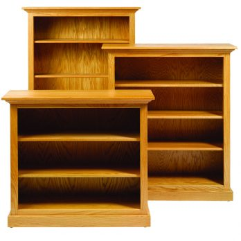 Bookcase w/Shelves