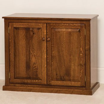 Salem 2-Door Credenza Cabinet