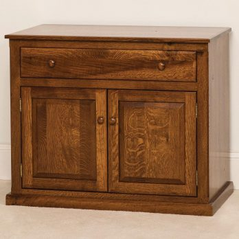 Salem 2-Door 1-Drawer Credenza Cabinet