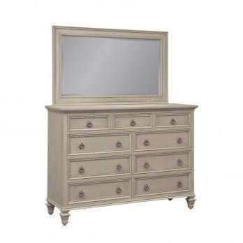 Savannah Tall Dresser & Mirror