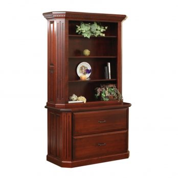 Fifth Avenue Lateral File with Hutch