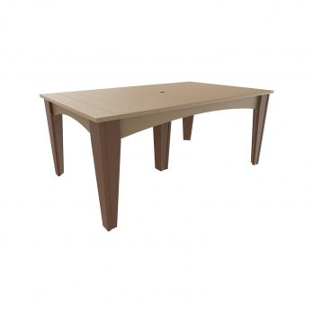 Island Dining Table (44″ x 72″ Rectangular)