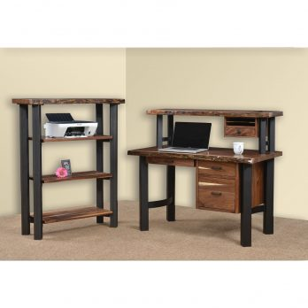 Millennium 50″ Deluxe Desk with Live Edges