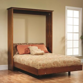 Old English Mission Murphy Wall Bed