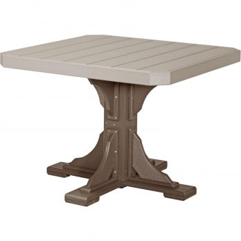 41″ Square Table