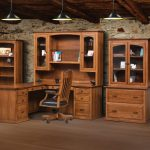 Salem 2-Piece Bookcase w/ Doors and Drawer (H-84)