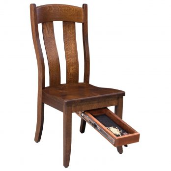 Gold Rush Side Chair W/Quick Drawer